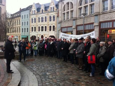 Merseburg gedenkt den Opfern der nationalsozialistischen Terrorherrschaft